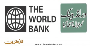 At last World Bank ponder on the issue
