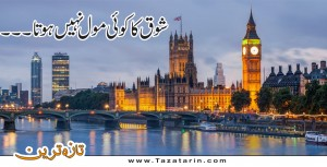 Biritish couple on one year visit of britian
