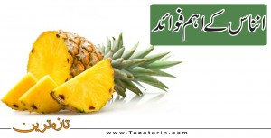 Important benefits of Pineapple