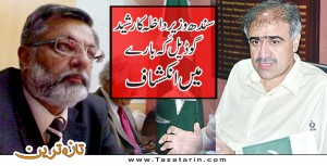 Interior Minister Sindh claimed about Rasheed Godil