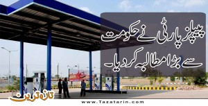 PPP senator demands to reduce petroleum products
