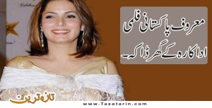 Renowned actress loses her diamond neckless