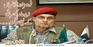 Zaid Hamid not being lashed in Saudia Arabia