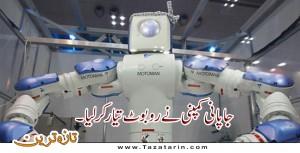 Japan introduces nursing robot