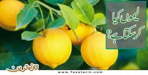 Benefits of lemon.