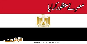 New law approved in Egypt
