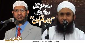 who is biggest scholar tariq jamil or zakir naik