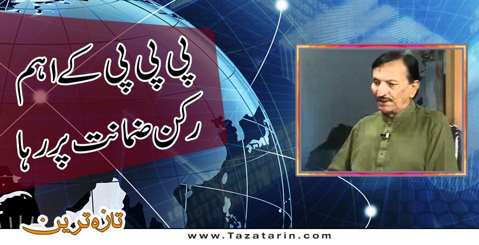Ali nawaz shah released on bail