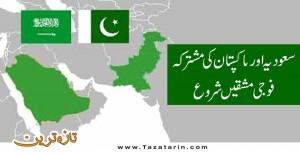Pakistani and Saudi army exercises start