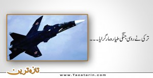Turkey shot down Russian fighter plane