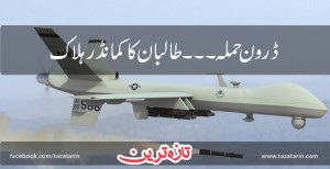 Taliban's commander died in drone attack
