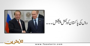 Russia's interesting offer to Pakistan