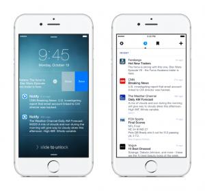 notify app facebook