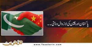 pak china friendship