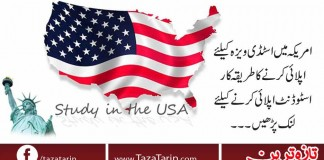 How to apply for study visa in USA?