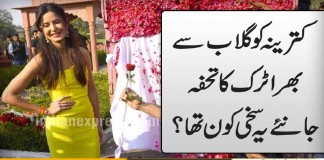 Aditya Roy Kapur gifts truck full of roses Katrina