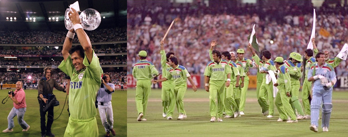 Who Rules The World - 1992 Cricket World Cup Official Song ft Junaid!