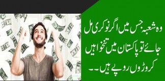 How can you earn millions in pakistan